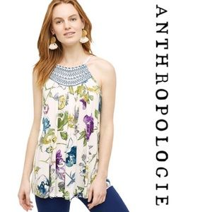 Anthropologie Isabel floral top